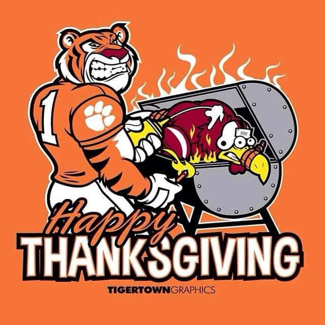 Clemson Thanksgiving
