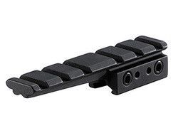 """BKL 3/8"""" or 11mm Dovetail to Weaver Cantilever Adapter, 4"""" Long, Matte Black"""