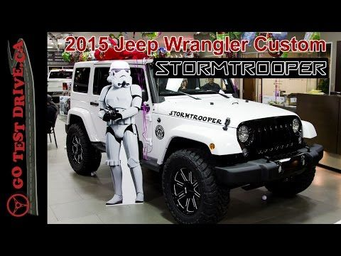 Jeep Wrangler Stormtrooper Costs 60 000 Star Wars Wrangler 2015 Jeep Wrangler Jeep Wrangler Jeep