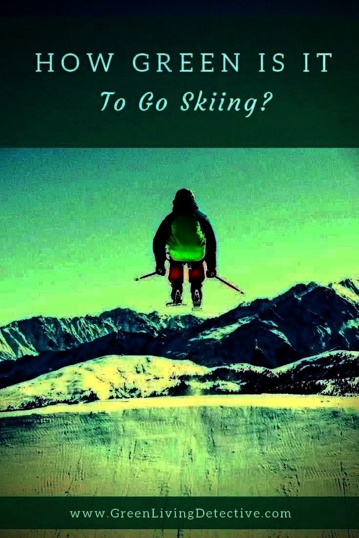 Living Detective  Detox  Prosper  Natural Toxin Free Living  How Green Is It To Go Skiing  Green Living Detective Is it possible this beautiful sport could disappear How...