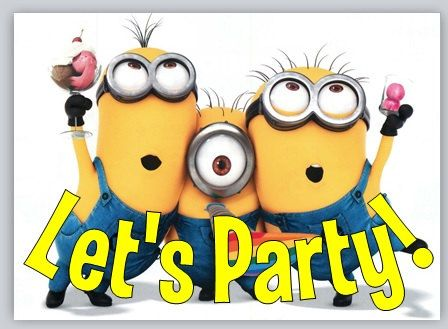 minion / despicable me birthday party by mollysadornments on etsy, Birthday invitations