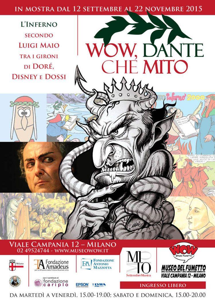 WOW, Dante che MITO! – Dal 12 settembre al 22 novembre 2015 presso Wow Spazio Fumetto, le versioni fumettistiche della Divina Commedia