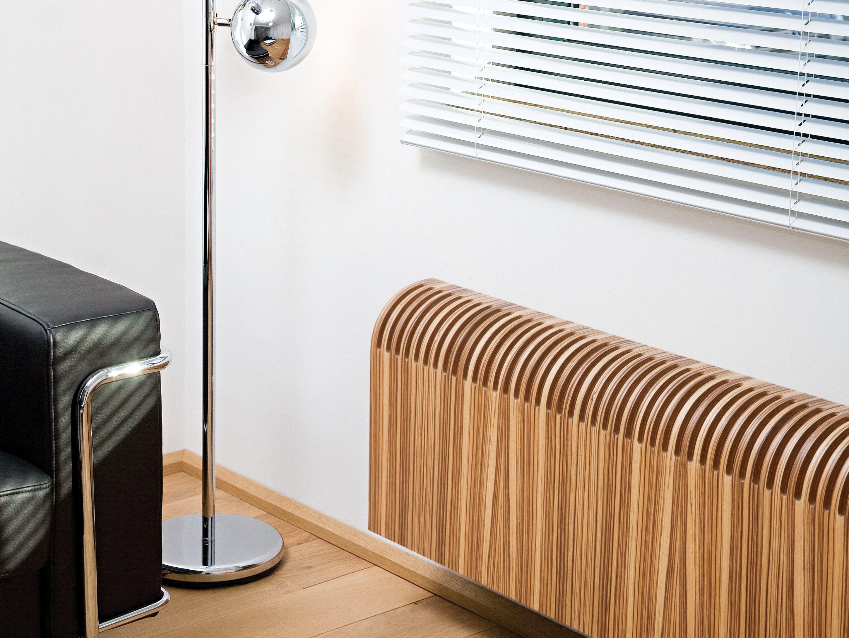 Wand Holz Heizkörper Bauhöhe 550 Mm Mit Verkleidung Aus Sperrholz  Mehrschichtholz Platten Edelsten Furnier Horizontal Mit Wärmetauscher  Preiswert Günstig ...