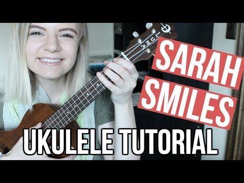 Sarah Smiles Panic At The Disco Ukulele Tutorial Youtube