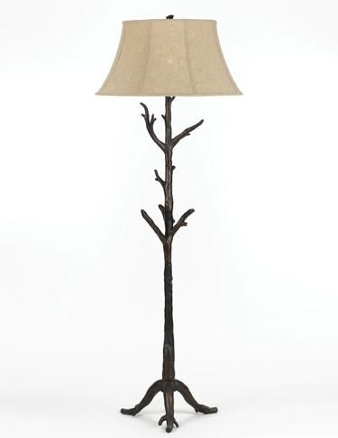 Attractive The Resin Faux Branches On The Root Floor Lamp From AF Lighting Are  Handcrafted So That