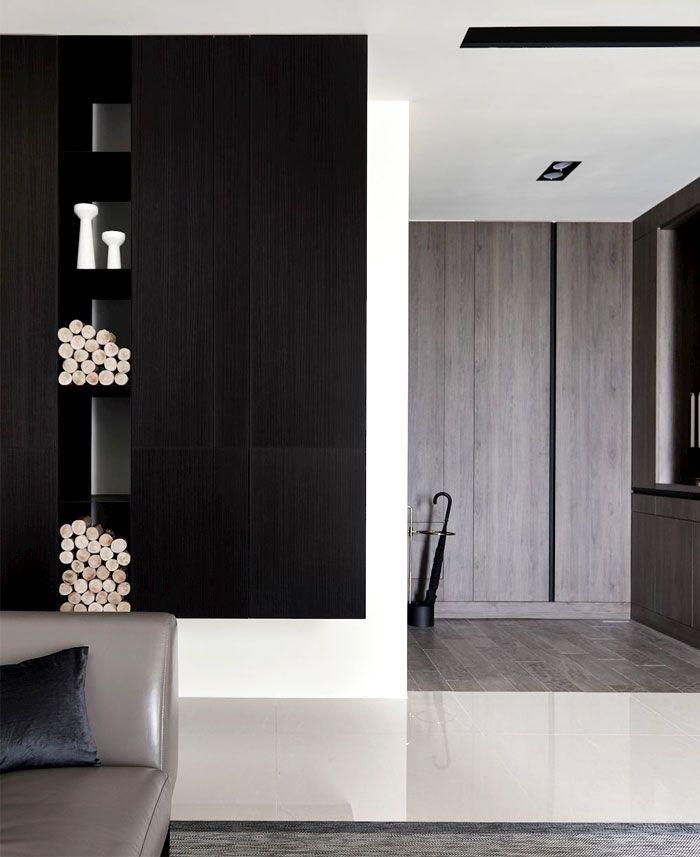 Apartment im modernen asiatischen Stil | Interior Design ...