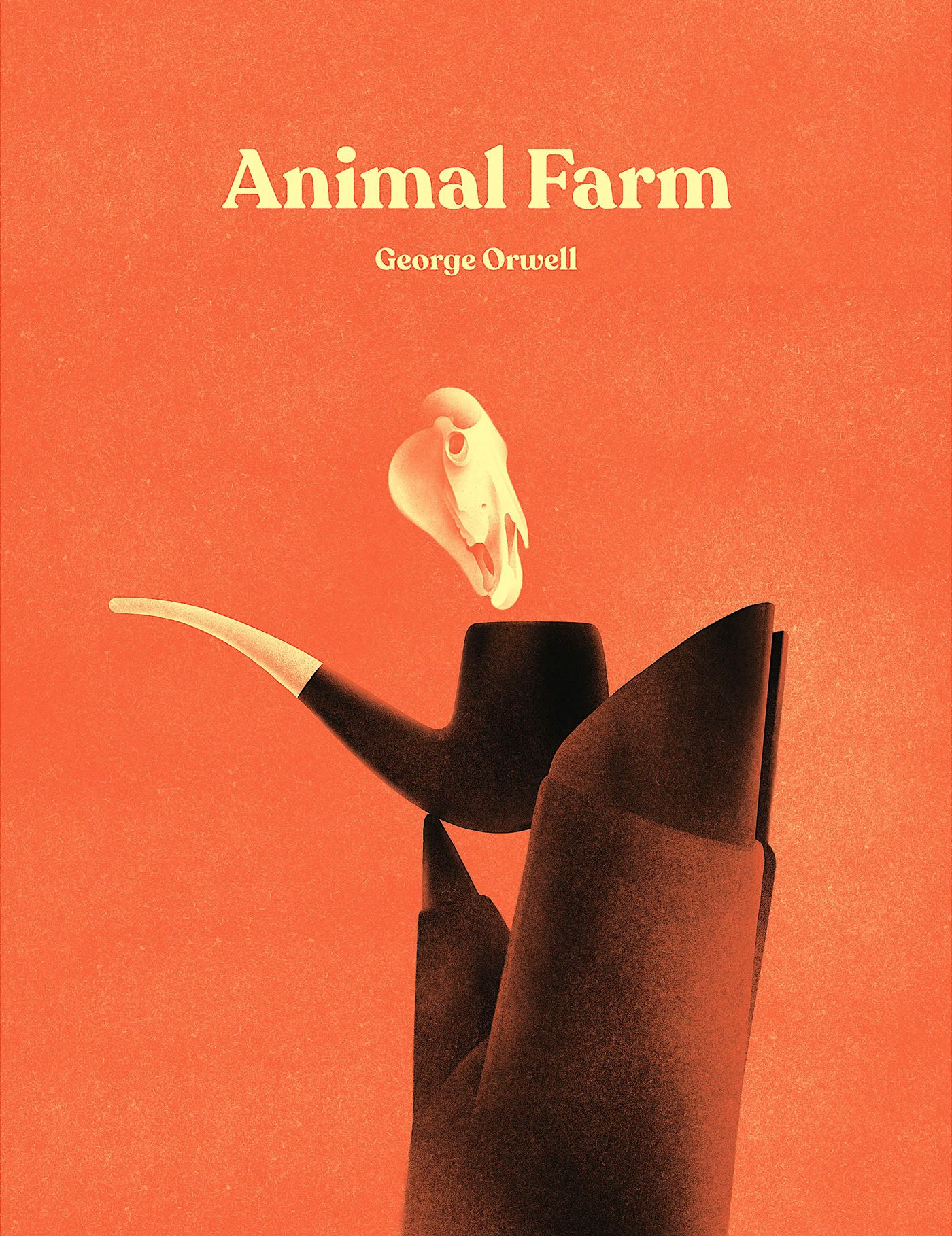 Animal Farm On Behance Farm Animals Animal Farm Book Animal Farm George Orwell