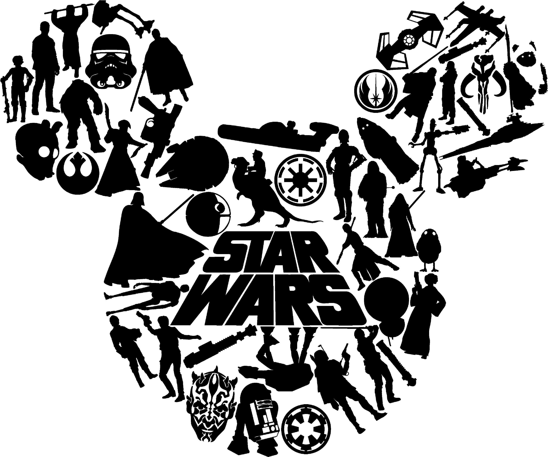 Star Wars Disney Disneyland Galaxy's Edge Star Wars Mickey