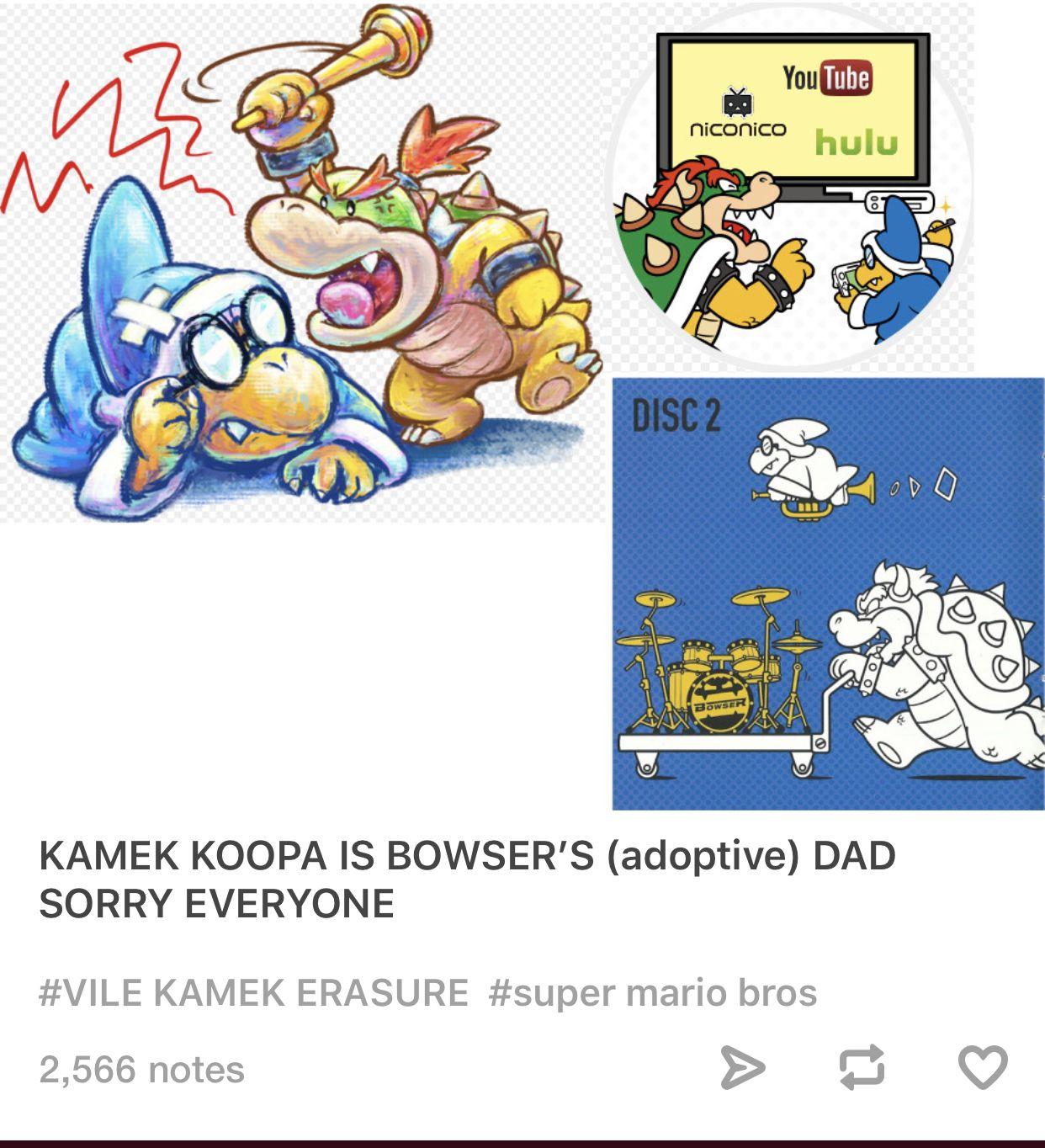 Mario s adoptive daddy