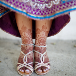 A gorgeous Indian wedding that has tradition with a fun twist...
