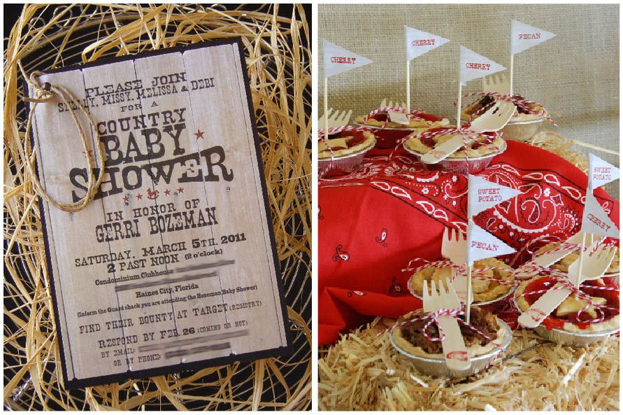 Country Baby Shower | Country babies, Babies and Western babies