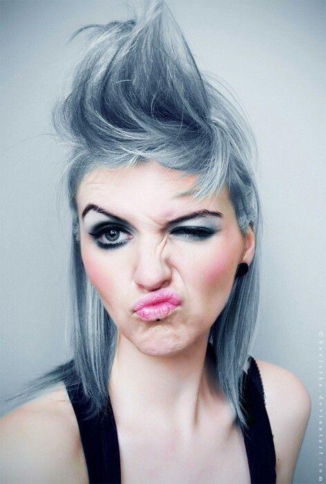 Short Silver Hair!