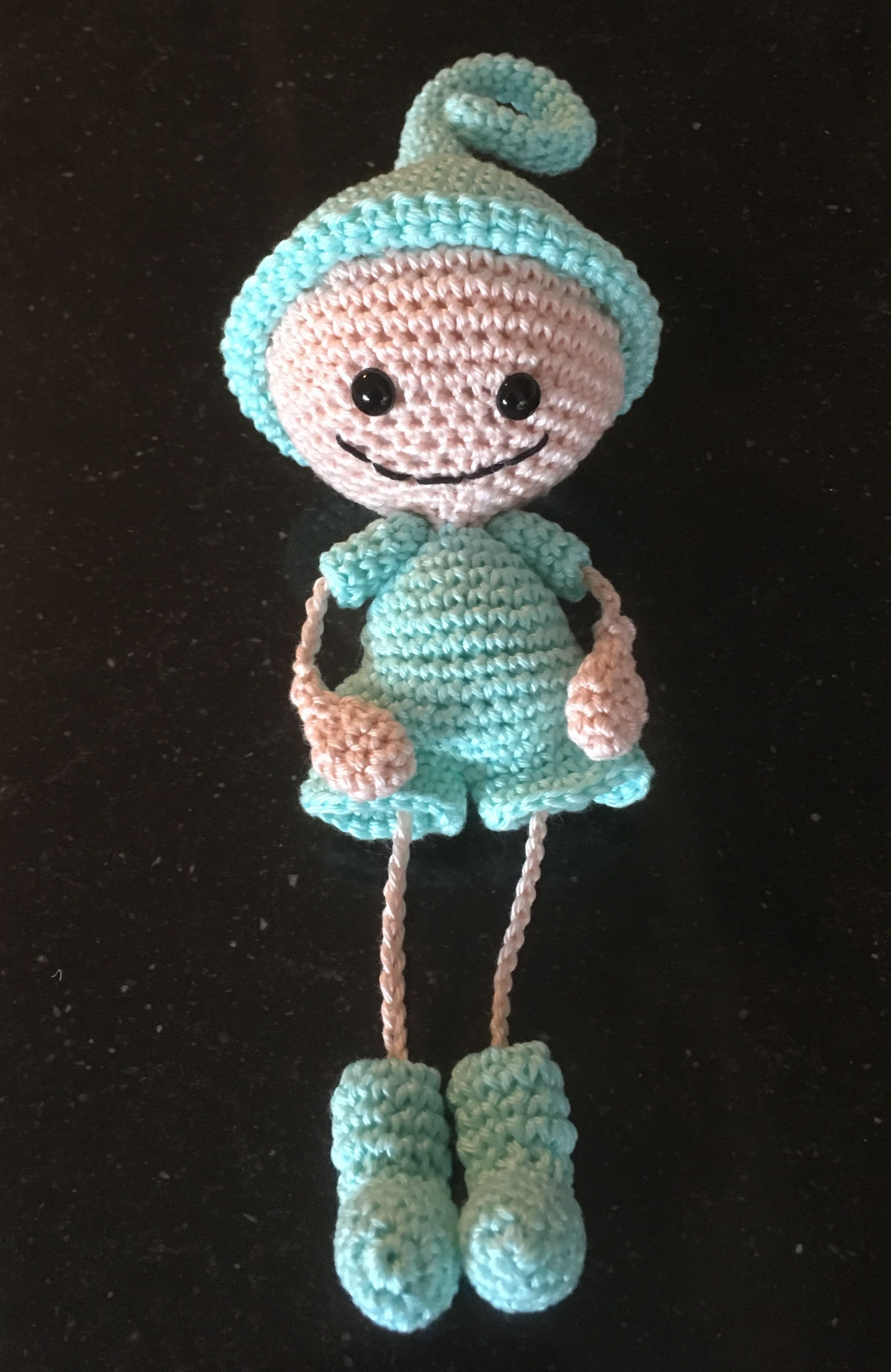 Gehaakt Bescherm Engeltje Haken Crochet Made By Pinterest