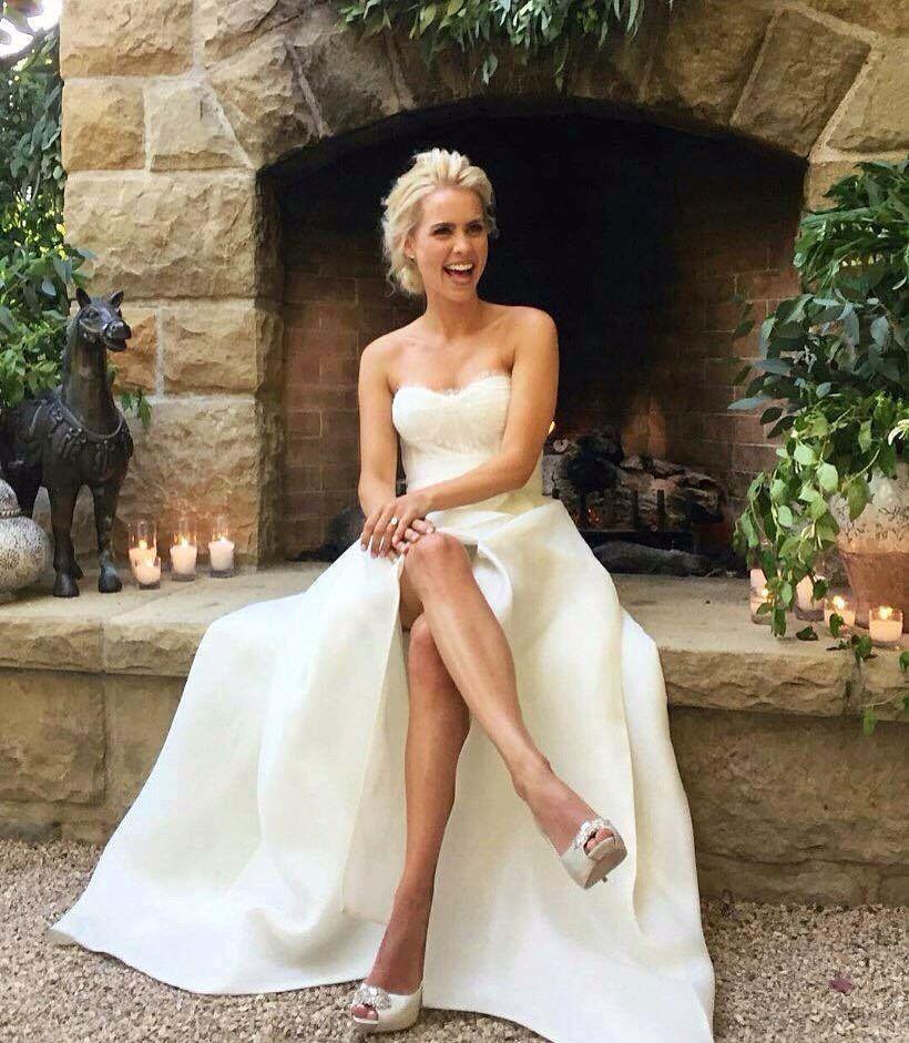 Claire Holt and Matt Kaplan's Wedding (April, 2016)