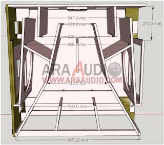 Skema Box Danley Dbh218 18inch Mantap Speaker Desain Teknologi