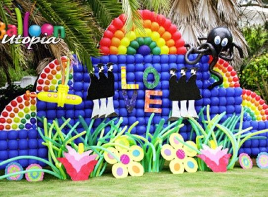 San diego balloons and decor balloon san diego balloon for Annual function decoration
