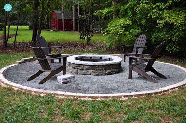 Make A Diy Fire Pit This Weekend With One Of These 61 Fire Pit Ideas Outdoor Fire Pit Designs Backyard Fire Fire Pit Backyard