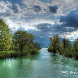 Foto Foto Pemandangan Alam Yang Spektakuler Dan Sangat Indah Pemandangan Sungai Alam