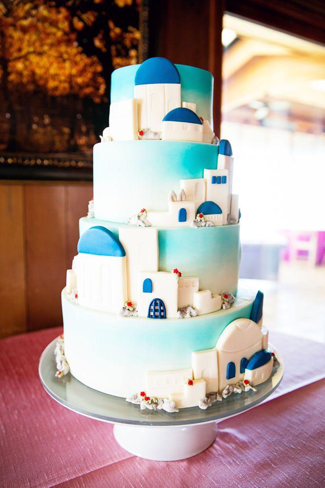 An Amazing Greek Themed Cake Janae Shields Photography