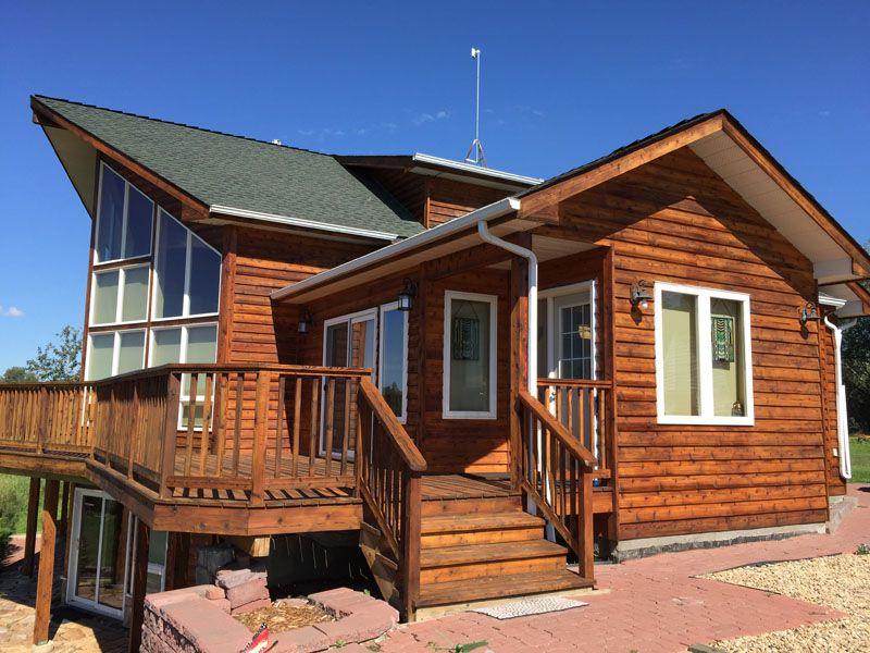 Best Home Near Edmonton Ab 2016 House Styles Cedar Siding Dream House 400 x 300