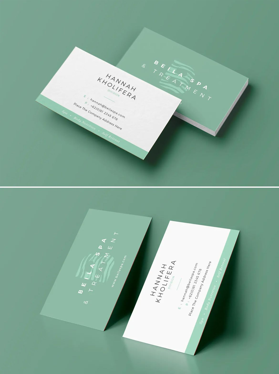 Clean Business Card Template Cleaning Business Cards Business Card Template Design Business Card Template