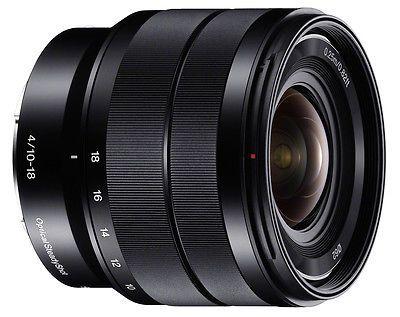 Sony E Sel 10 18mm F4 0 Oss Wide Angle Zoom Camera Len Sel1018 Lens Pen Lenses Lenses Filters Camera Lens Oss