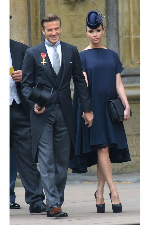 April 29 2017 David Pregnant Wife Victoria Beckham At The Royal Wedding Of Prince William And Kate Middleton