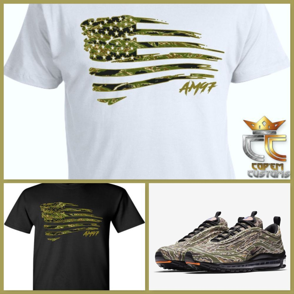 EXCLUSIVE TEE/TSHIRT to match NIKE AIR MAX 97 COUNTRY