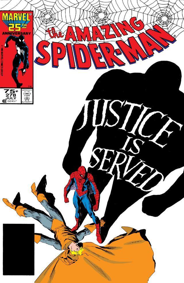 Amazing Spider-Man (1963) #278 #Marvel #AmazingSpiderMan (Cover Artist: Kyle Baker & Charles Vess)