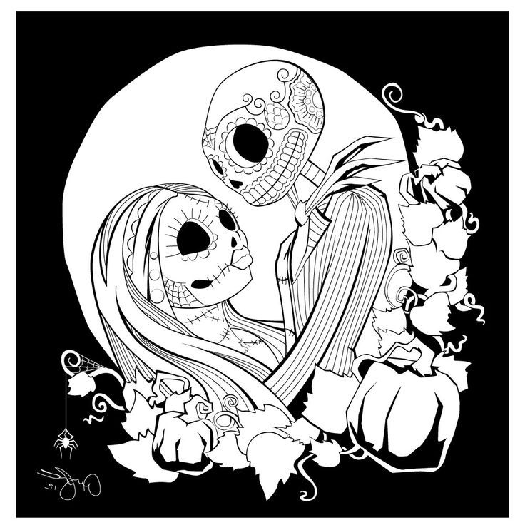 Free Printable Nightmare Before Christmas Coloring Pages Best Coloring Pages For Kids Christmas Coloring Books Printable Christmas Coloring Pages Love Coloring Pages