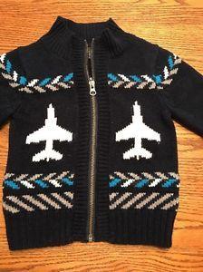 da51af4b96d3 Baby Gap Toddler Boys Size 2T Airplane