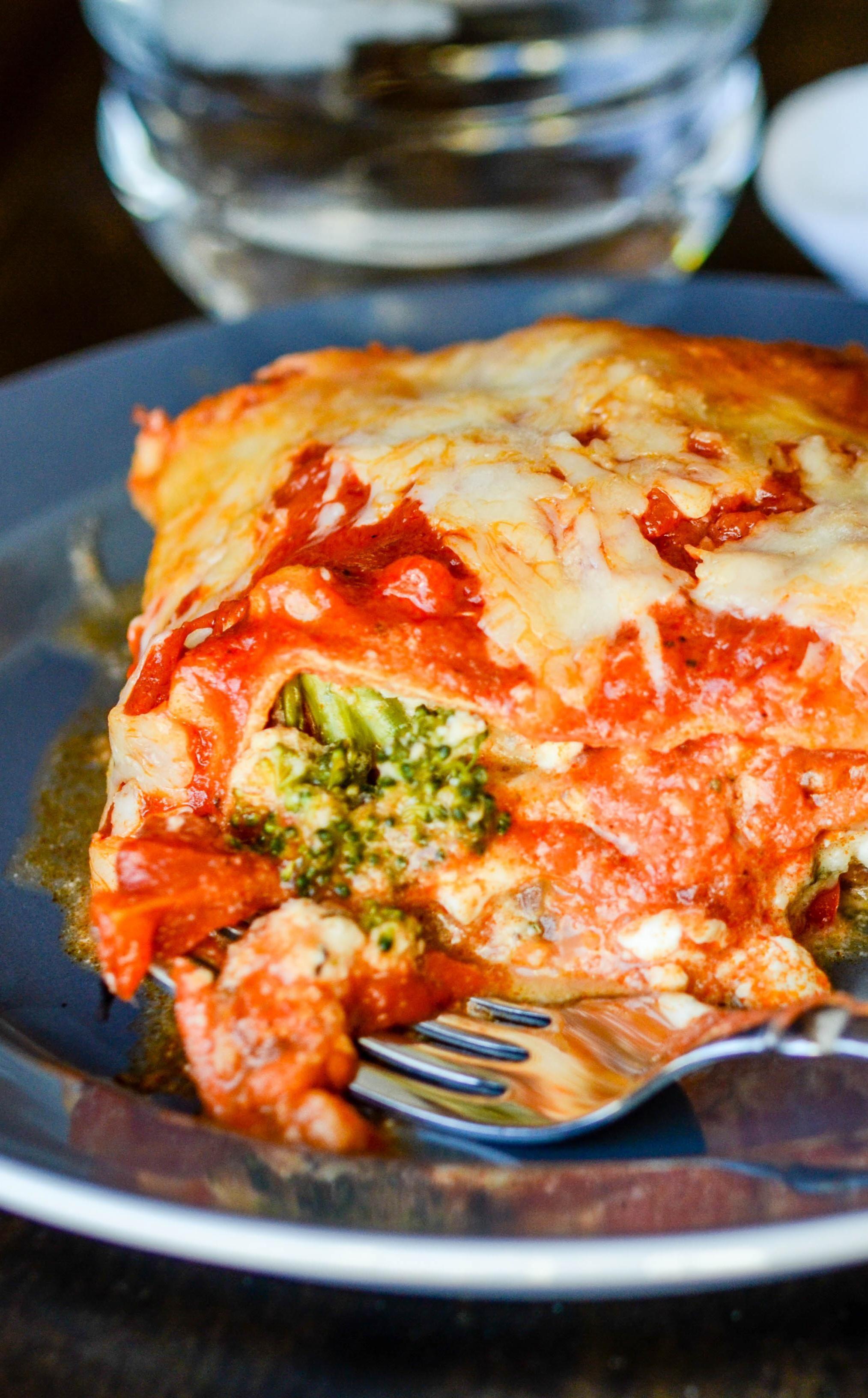 Instant Pot Cheesy Vegetarian Veggie Lasagna Dump And Go Dinner