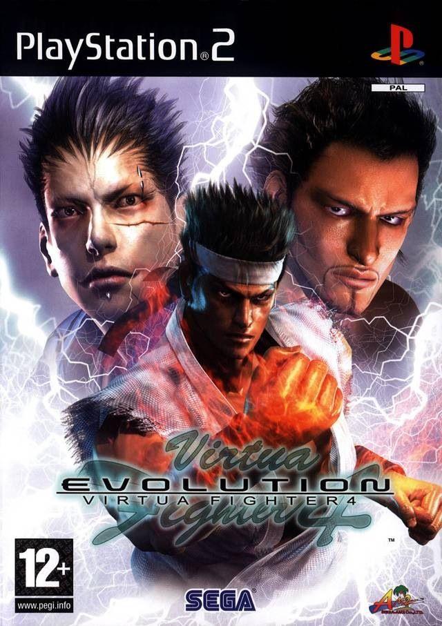Virtua Fighter 4 Evolution Ps2 Playstation Sony Playstation