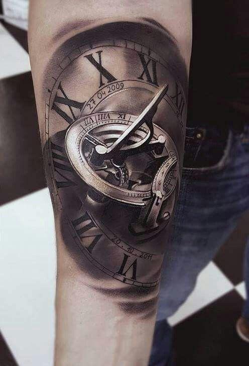 pingl par anna sur tattoo pinterest tatouages horloge tatouages et horloge. Black Bedroom Furniture Sets. Home Design Ideas