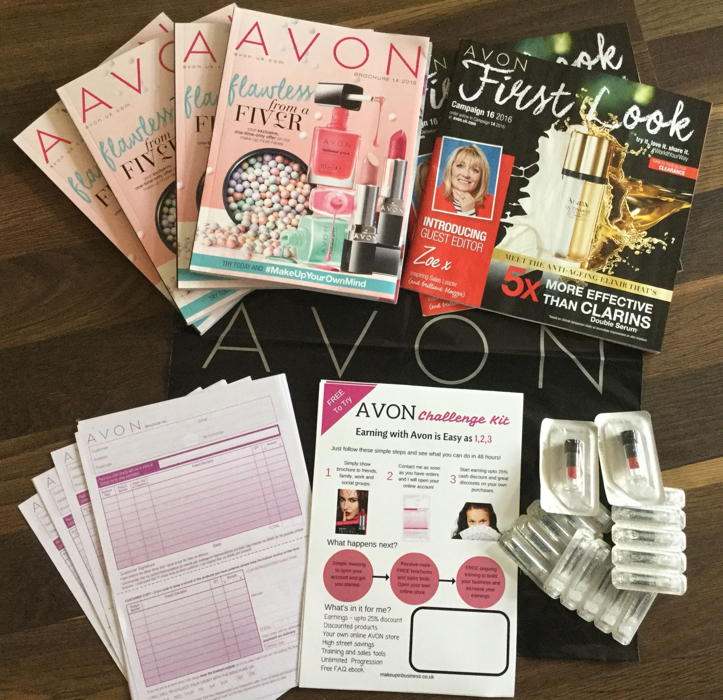 avon brochure challenge pack for new representatives avon brochure 14 challenge pack for new representatives join online at