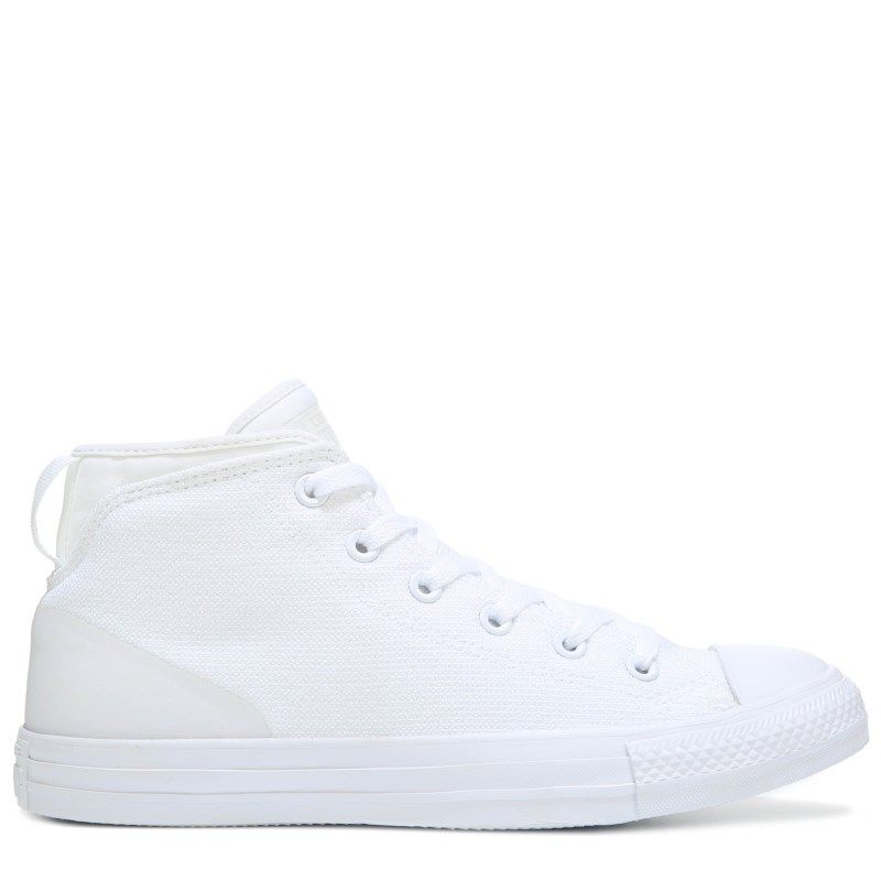 Men's Chuck Taylor All Star Syde Street Poly Mid Sneaker #whiteallstars