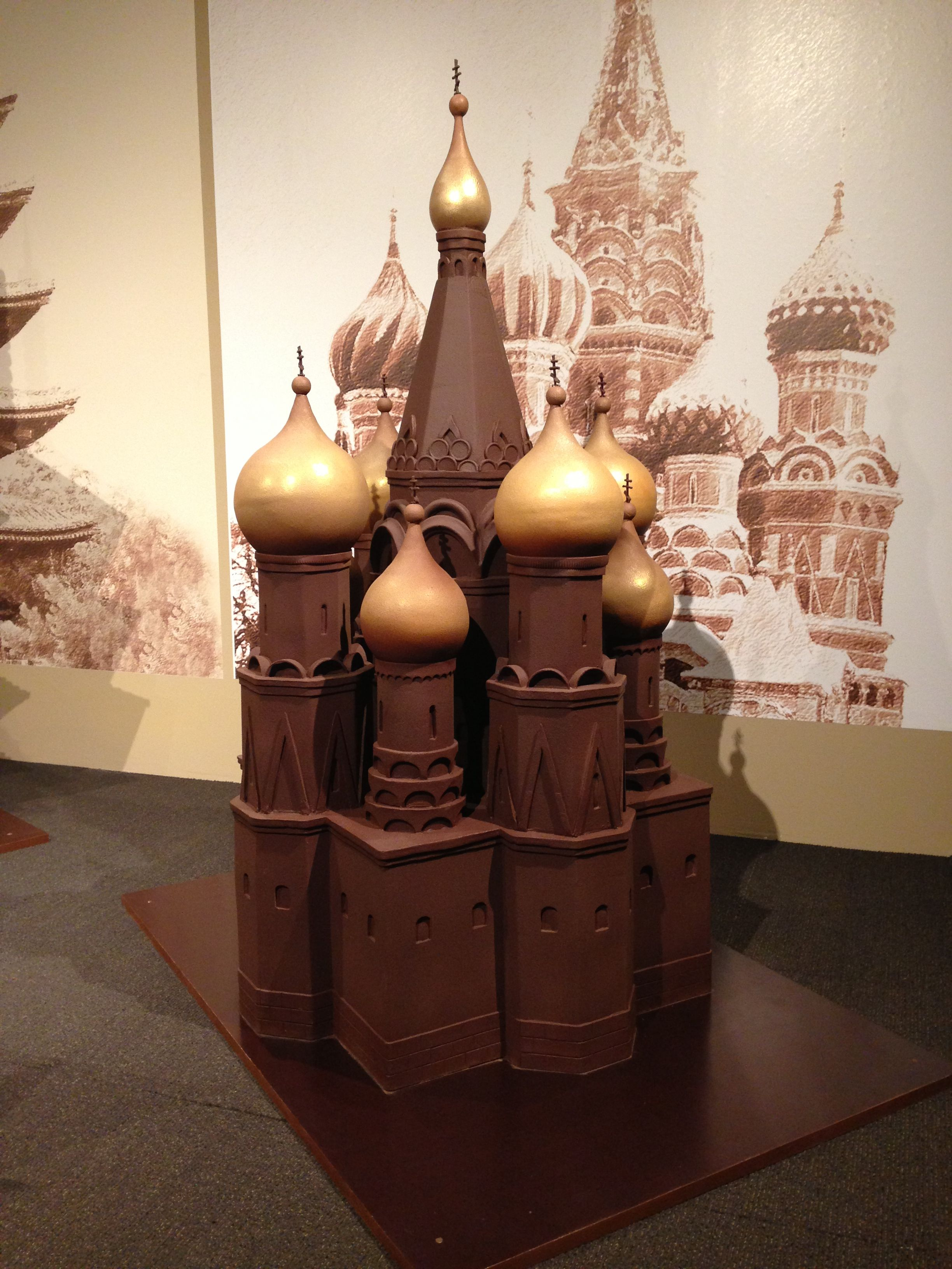 Made entirely of chocolate! #yummy