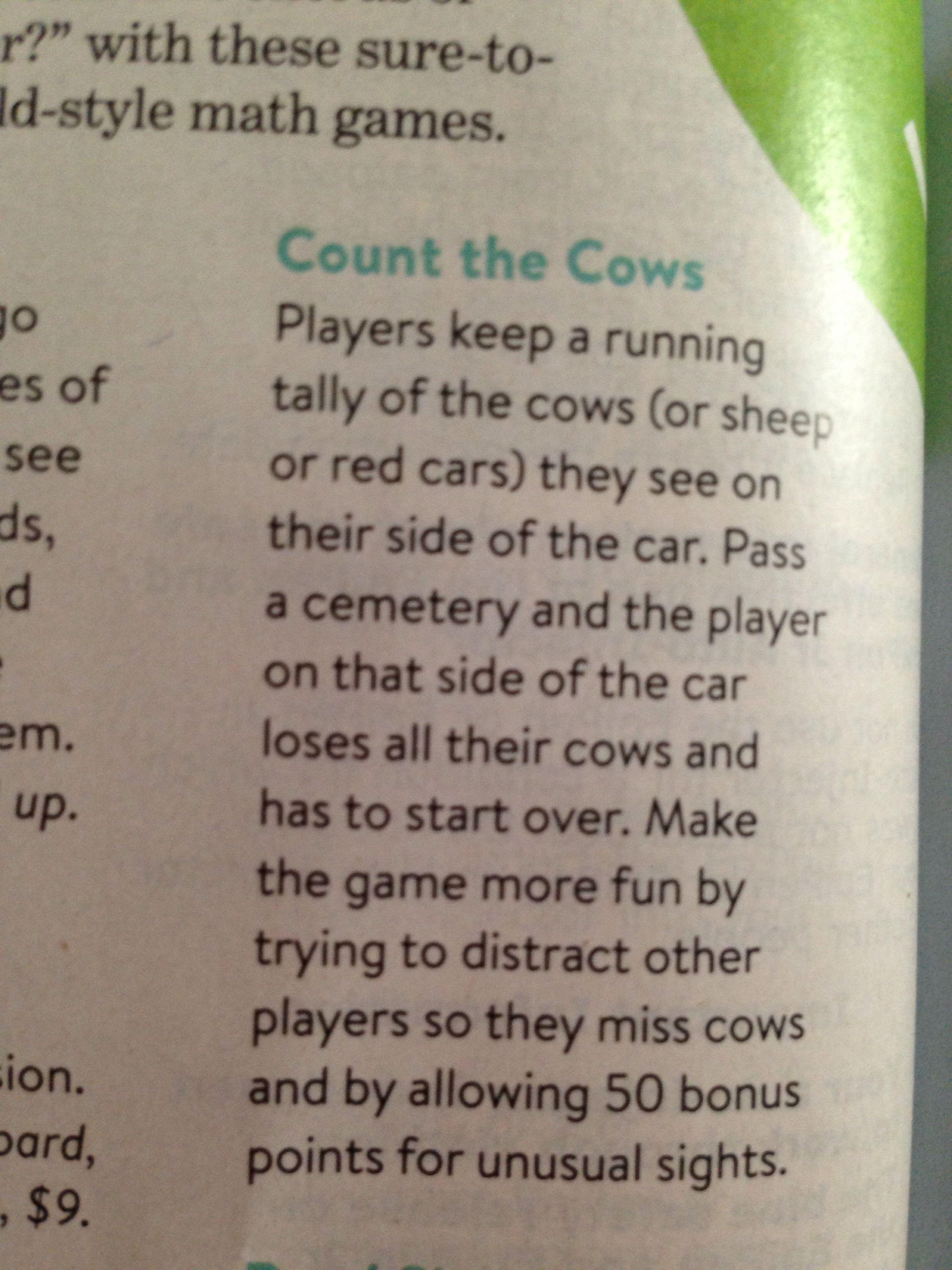 Car games!! Car games, Road trip, Math games