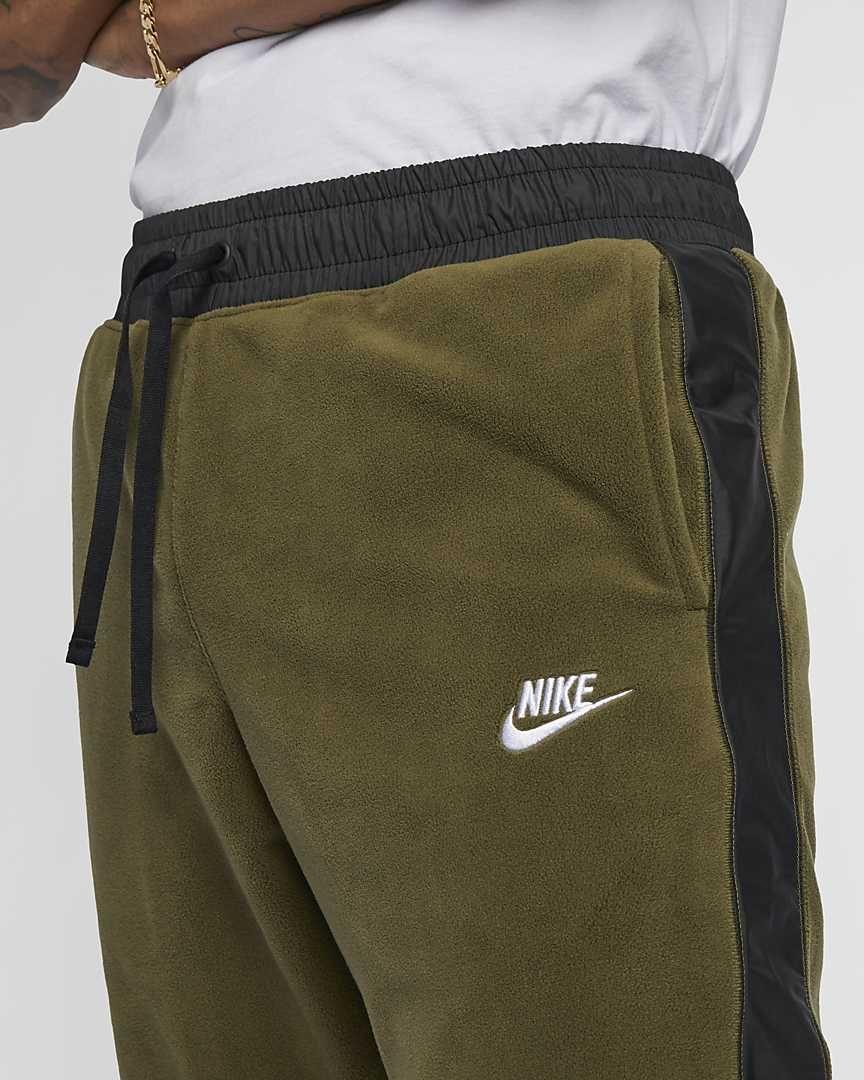 pantaloni nike verde