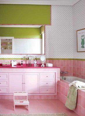 Habitaci n de ni a en color rosa dormitorios de ensue o for Decoracion de la habitacion de nina rosa