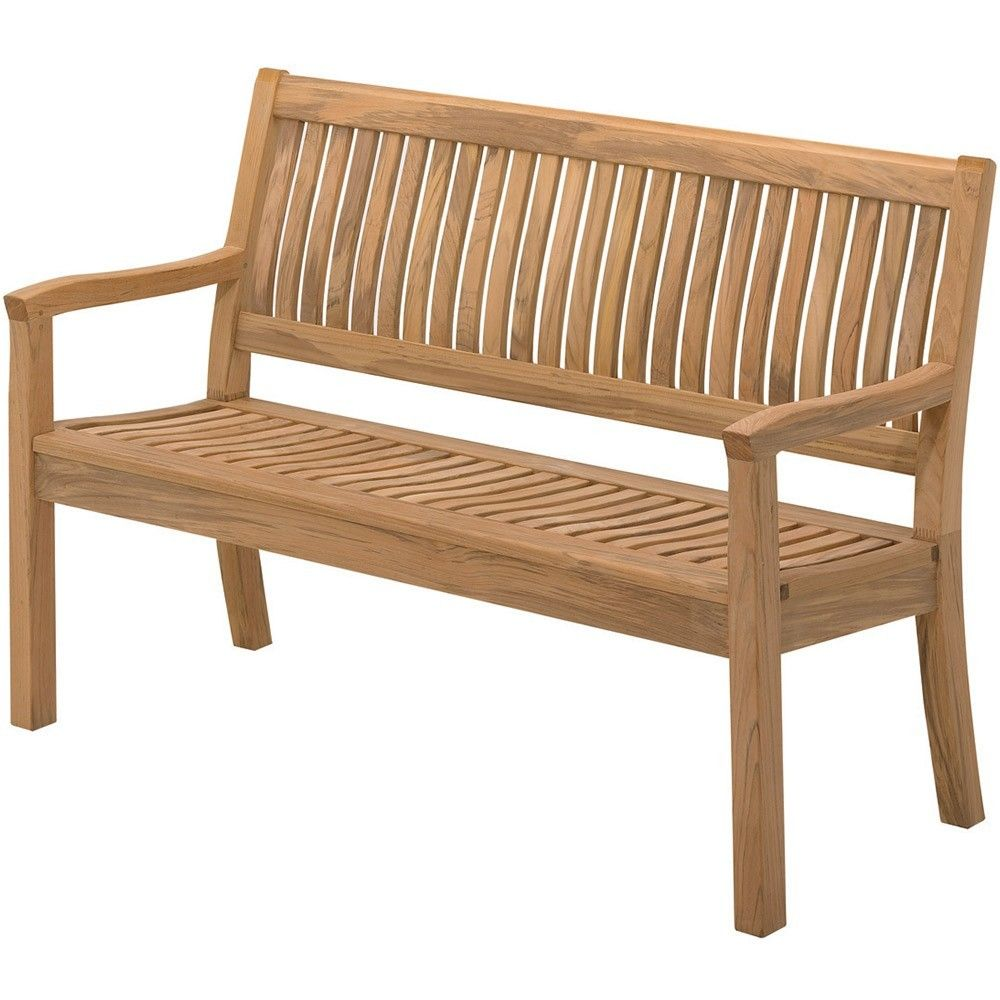 gloster kingston teak outdoor bench    £  gloster  - gloster kingston teak outdoor bench    £