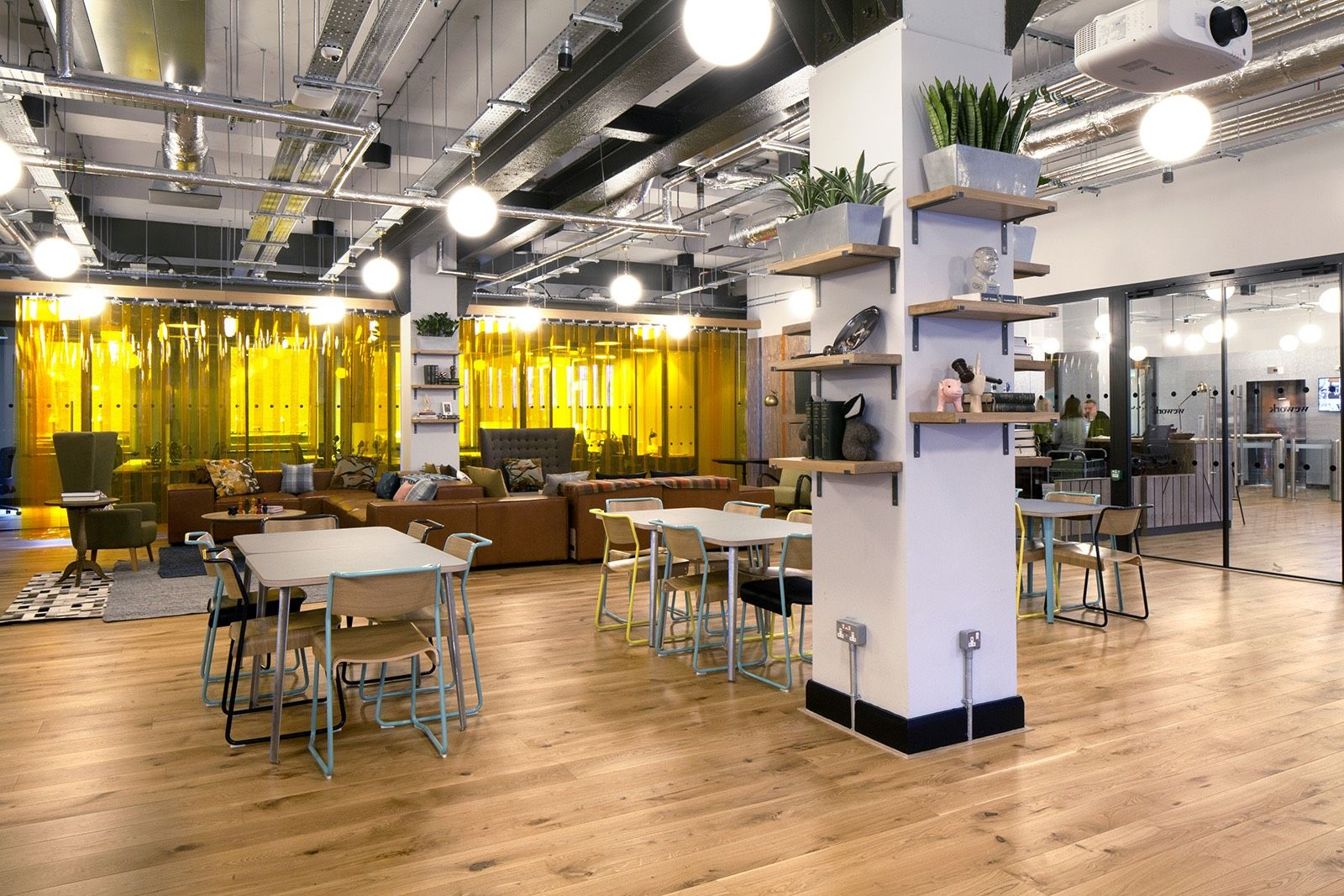 A Tour Of Wework Chancery Lane Workplace Design Basic Design Principles Design Firms