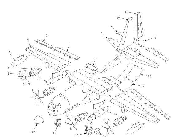 C130j Major Parts