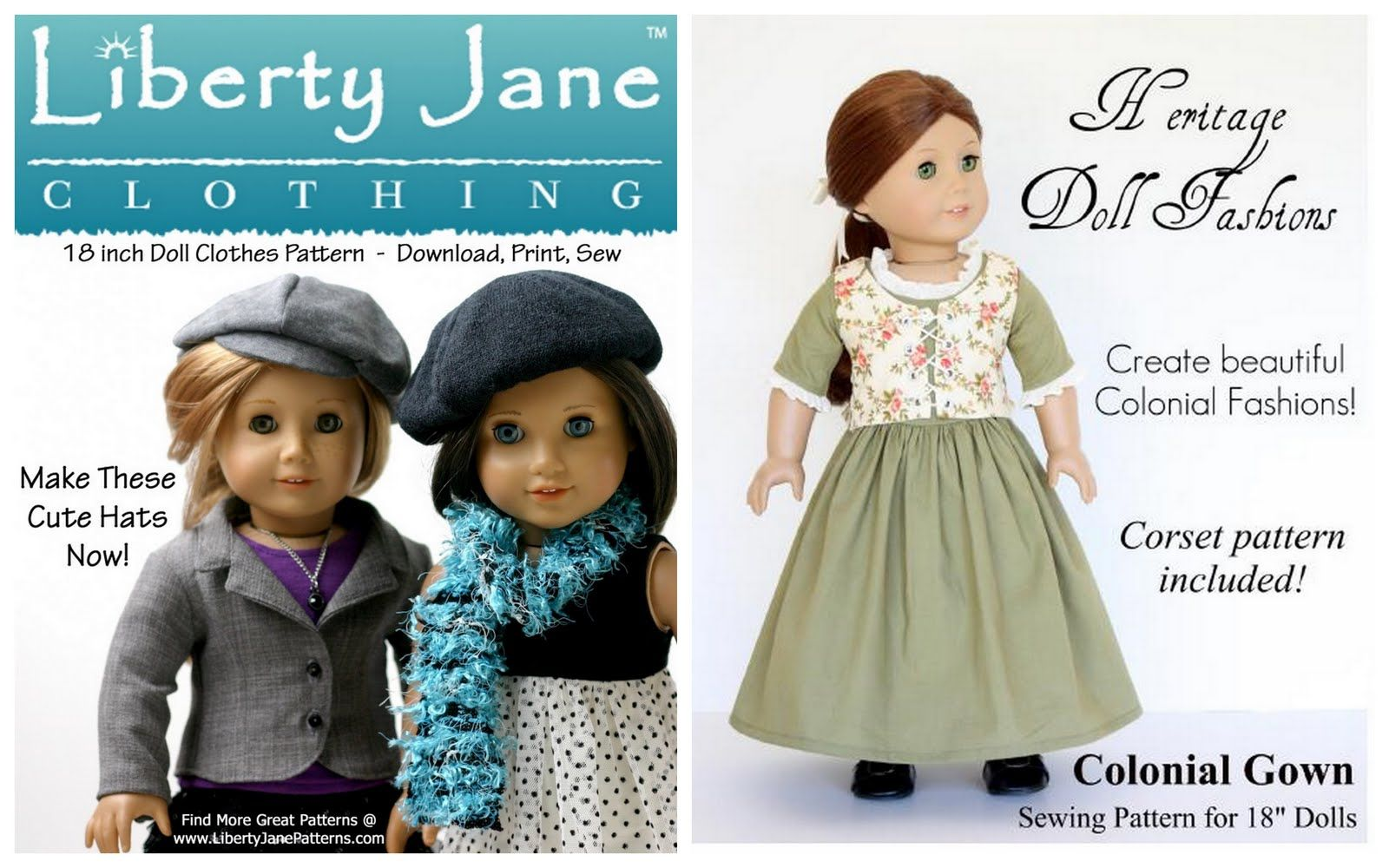 doll clothes patterns free online american girl free pattern month