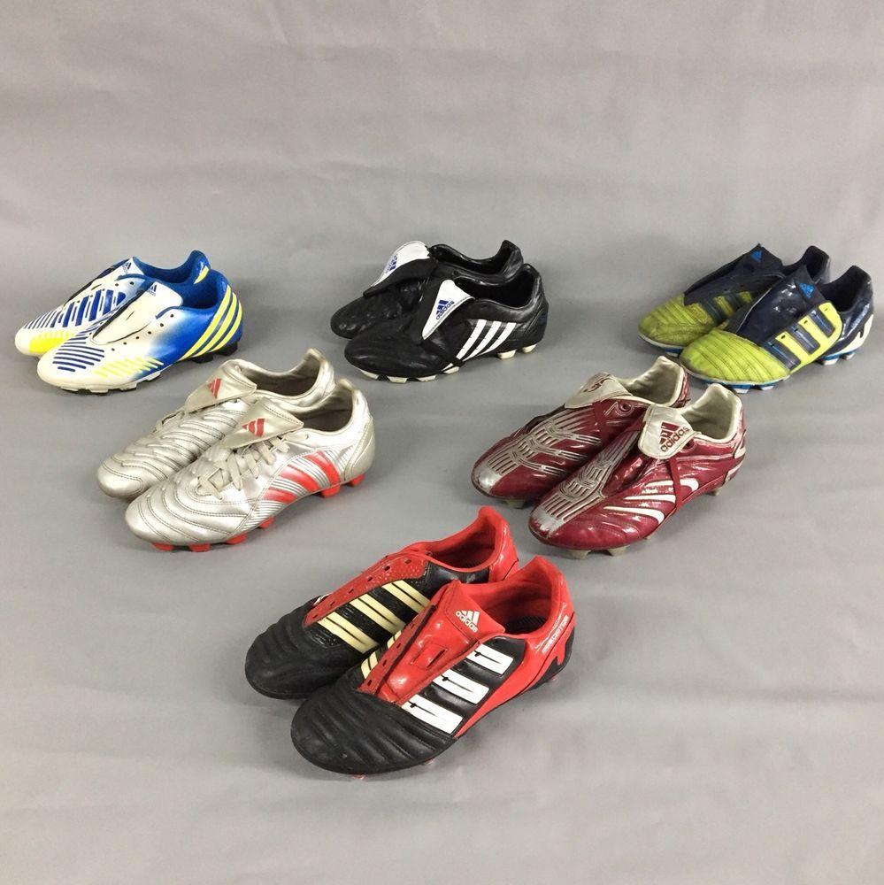Adidas predator scarpe da calcio serie Uomo / ragazzi joblot bambini scarpe uk