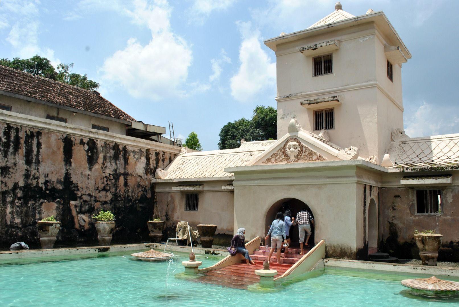 Image result for water castle taman sari