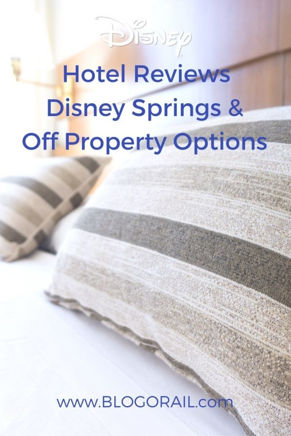Disney Hotel Reviews Springs Off Property Options The Blogorail