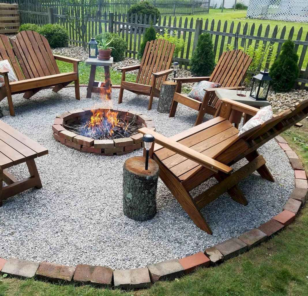 Photo of 65 Amazing Backyard Fire Pits with Cozy Seating Area Ideas