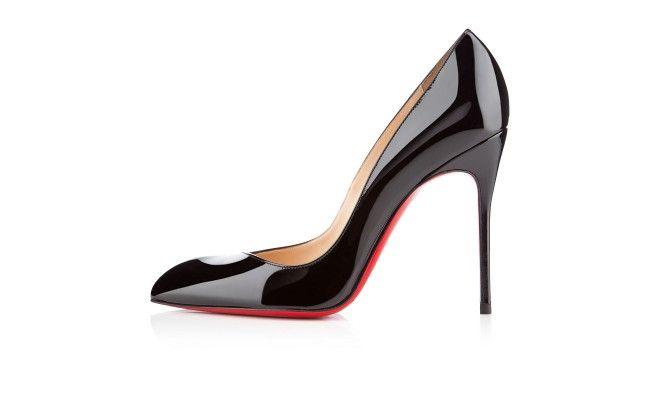 CORNEILLE PATENT 100 mm, Patent leather, Black, Women Shoes