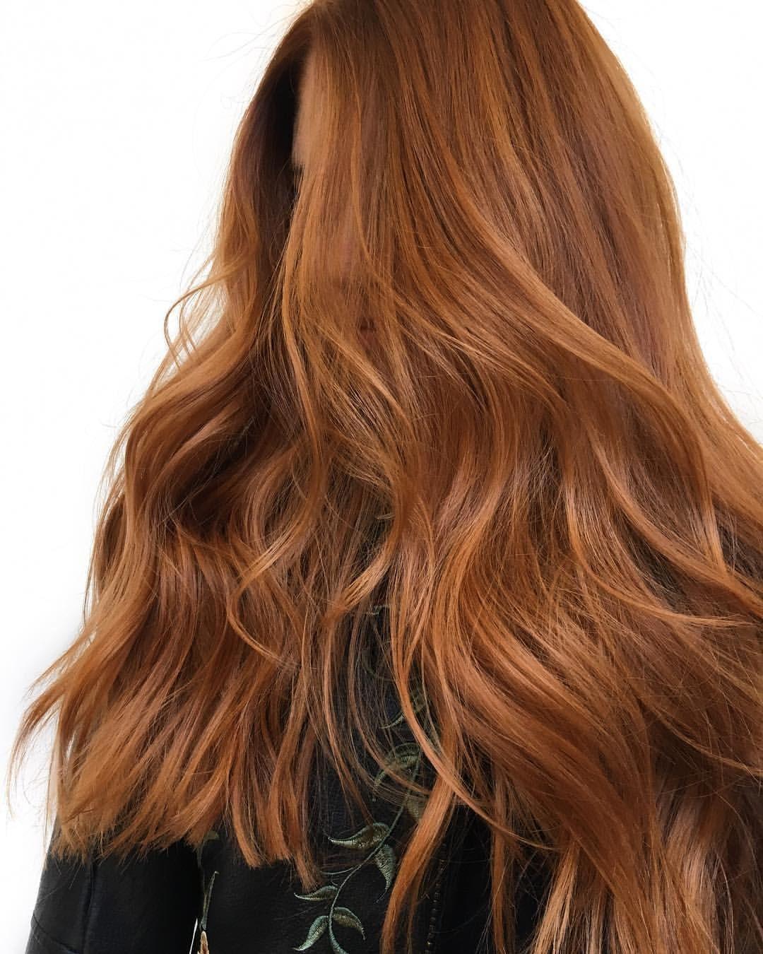 Ginger Brown Hair